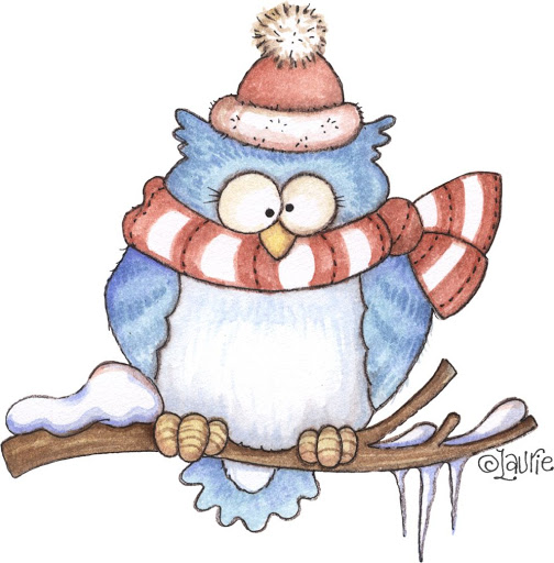 Owlet clipart winter CLIP OWL OWL and ART