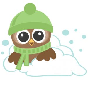 Owlet clipart winter Miss on Owls: SVG best