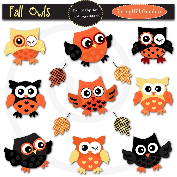 Owlet clipart witch On Art Making Owl Card
