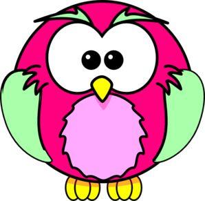 Owlet clipart writing Pinterest owls Clip Pink 20