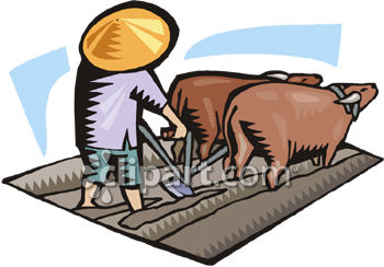 Ox clipart ploughing Demo Edition com School