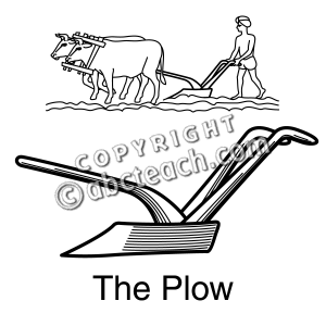Ox clipart ploughing (35+) white and art Clipart