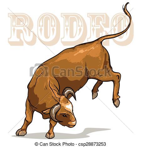 Bull clipart rodeo bull Bucking Bull csp28873253 Bull