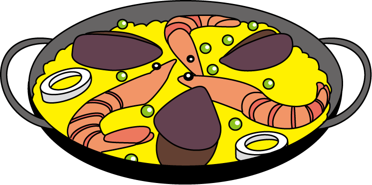 Paella clipart horderves Highest if any let our