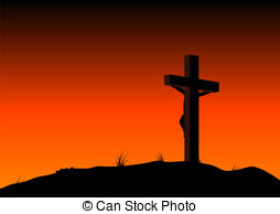 Pagan clipart crucified And Abstract on catholic illustration