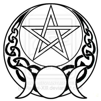 Pentagram clipart drawing Pentacle as it Wicca ·