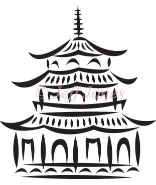 China Town clipart chinese pagoda Pagoda Search Search – Clipart