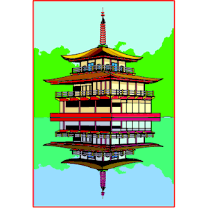 Pagoda clipart chinese palace Pagoda of emf download Pagoda