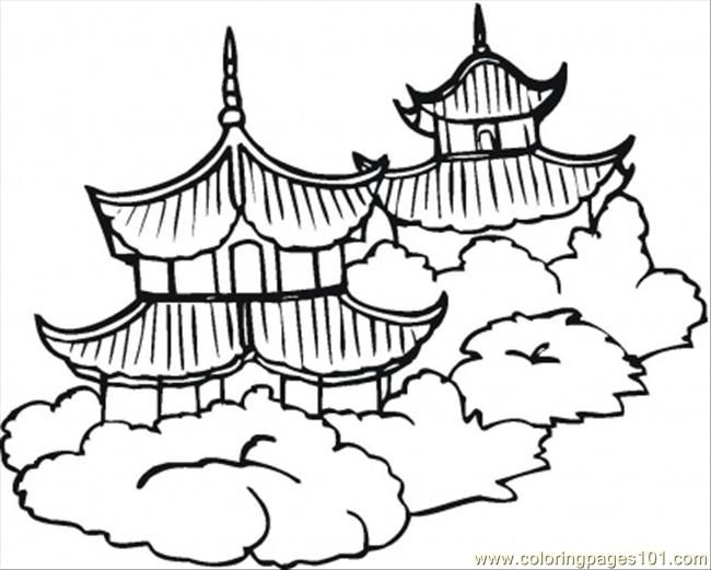 Pagoda clipart ancient china Coloring China) images > best