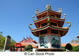 Pagoda clipart chinese architecture 3 architecture Illustrations and Chinese
