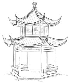 Pagoda clipart chinese architecture Pagoda Chinese architecture 灵感 Chinese