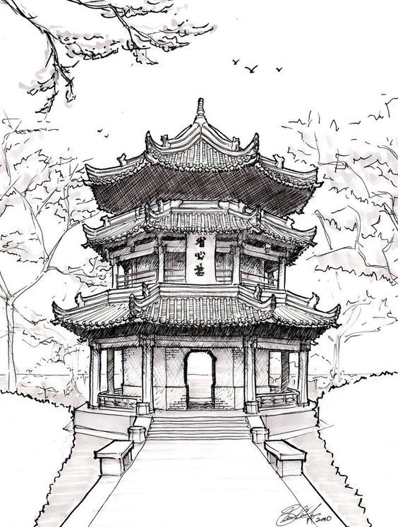 Pagoda clipart chinese architecture Best Architecture ~asuka47 on pagoda
