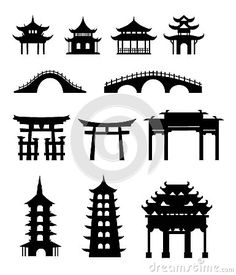 Pagoda clipart chinese architecture Chinese by this vector