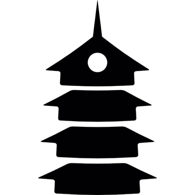 Pagoda clipart japan temple Japan japan Icons Pagoda temple