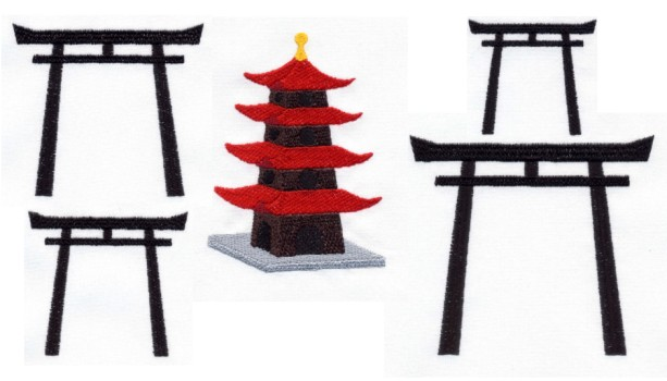 Pagoda clipart japanese gate Pinterest We Gates Feature We