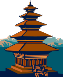 Place clipart buddhist temple #3