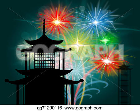 Pagoda clipart shrine And means Tower Shrine Silhouette