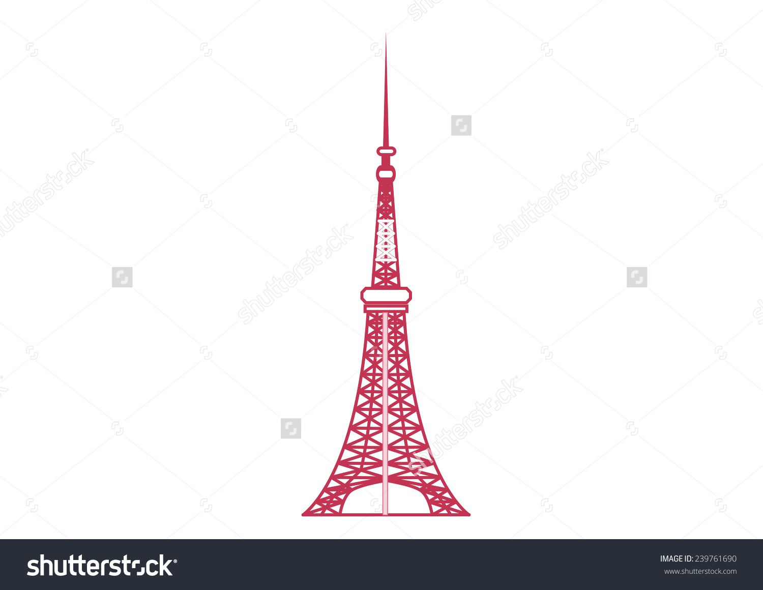 Tokyo clipart Tokyo Tower Clipart Images Tokyo – clipart 4306