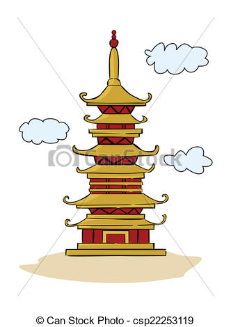 Pagoda clipart vector Art Temple Temple  Background