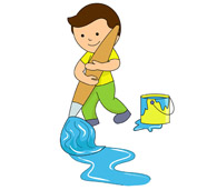 Paint clipart boy painting Paper paper Kb From: