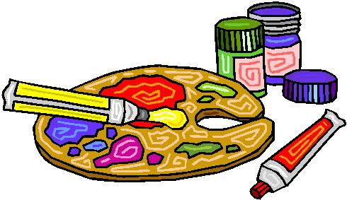 Paint clipart artistic Painting clip Painting Art art