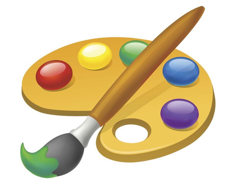 Brush clipart coloring Paint Free Clip  art