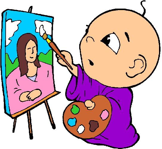 Paint clipart artistic Clipart Baby  Paint
