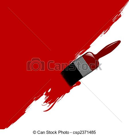 Brush clipart wall painting Brush Vector brush  Illustration
