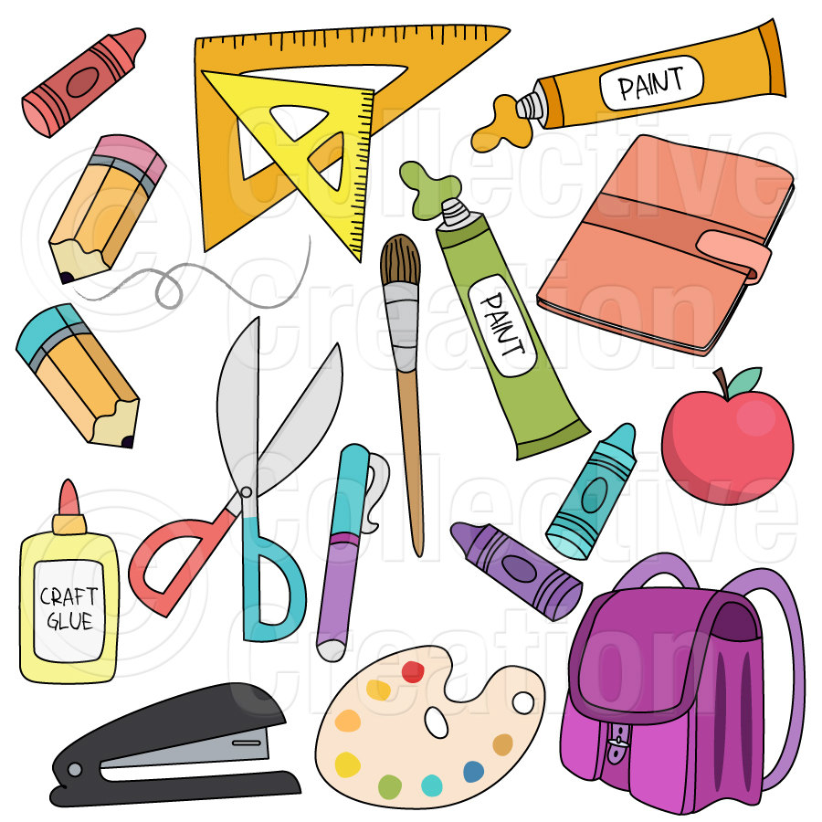 Marker clipart free school supply #3