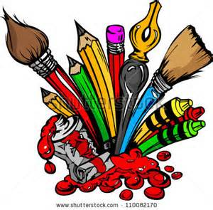 Crayon clipart paint brush Search crayons  Image black