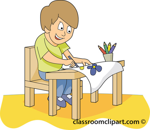Crayon clipart student Concepts Free Student At Download