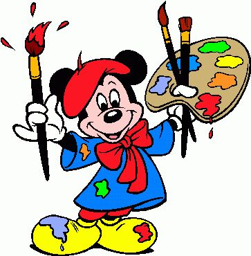Paint clipart disney Job a Mickey Unless get