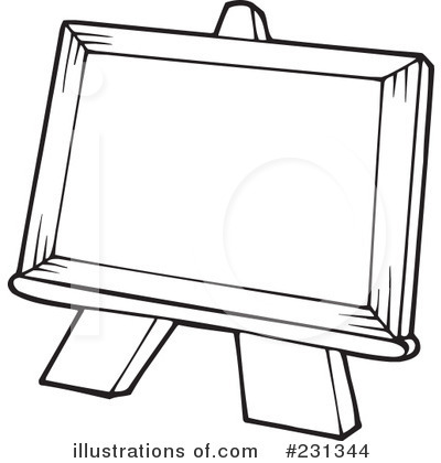 Painting clipart green #231344 Clipart Easel schliferaward Illustration