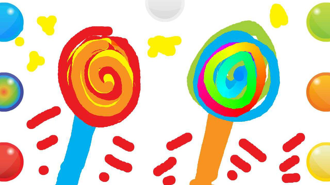 Creative clipart finger painting Apps screenshot With Finger on