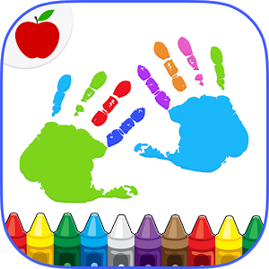 Creative clipart finger painting On Kids Coloring Finger Google