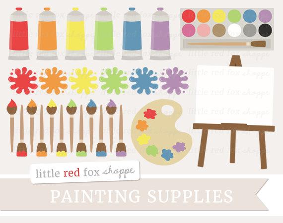 Palette clipart graphic design Paintbrush Painting Clip Classroom Art