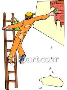 Paint clipart ladder Painting Picture on Free Wall