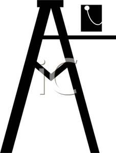 Paint clipart ladder Paint Art Image: Step a