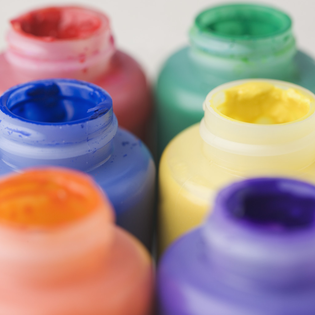 Painting clipart paint bottle & Art Childhood in Bottles