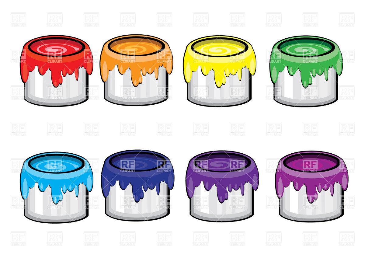 Painting clipart paint bottle A cans  paint A
