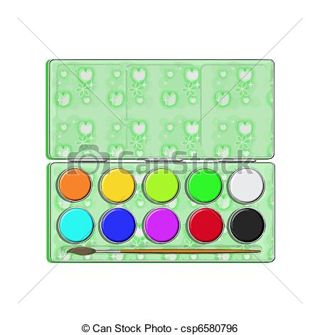 Paint clipart art subject Of Clip water  box