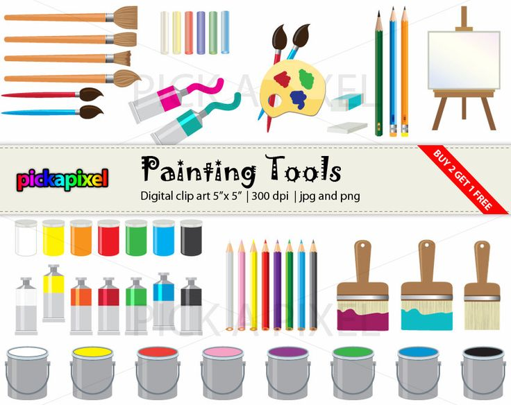 Painting clipart painting tool Tools Painting Industrial on Pinterest