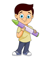 Crayon clipart student Holding Art Art Clipart Pictures