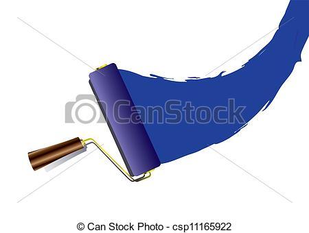 Painting clipart swoosh Blue swoosh swoosh Vector