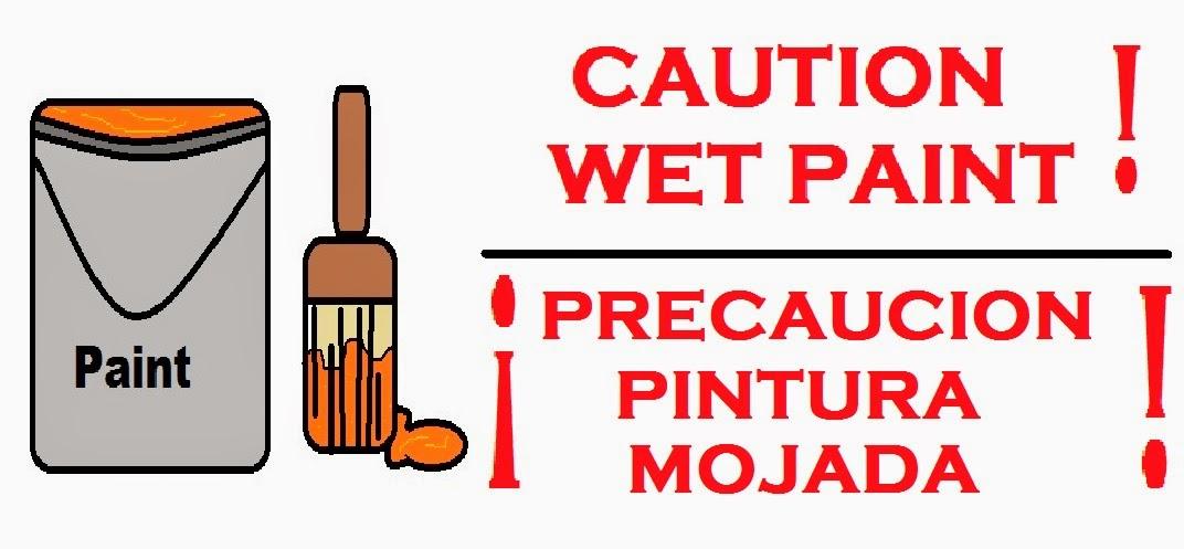 Painting clipart wet paint Vector Clip Sign Best Painting