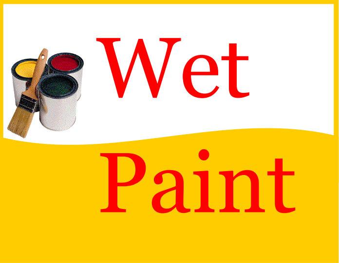 Painting clipart wet paint Wet Paint Wet PDF Business