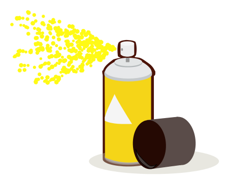 Bottle clipart spray paint Yellow png /household/chores/painting/spray_paint /household/chores/painting html