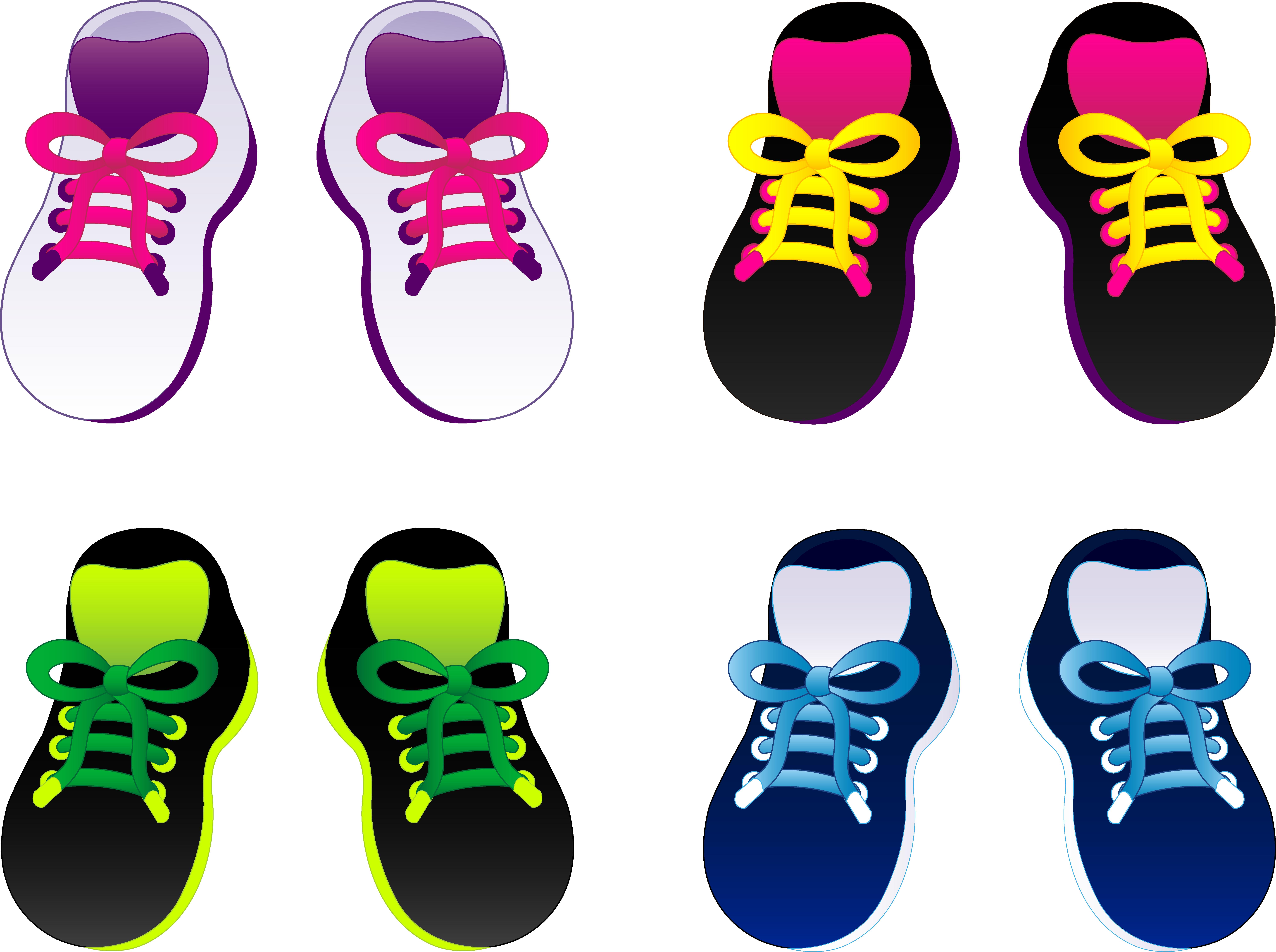 Shoe clipart footwear #9