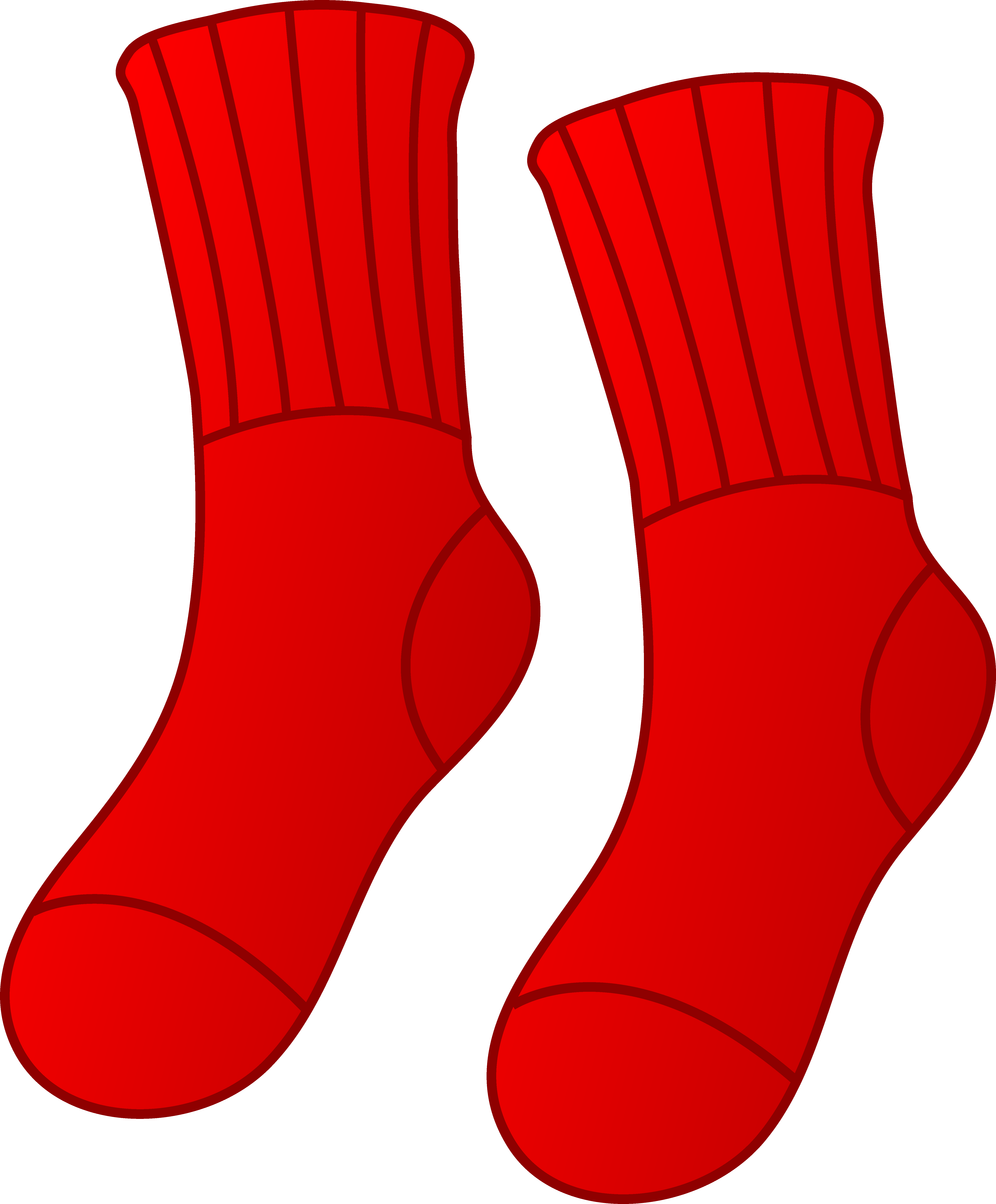 Feet clipart sock Cliparts Feet Clipart Pair Sock