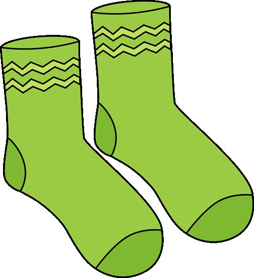 Pair clipart Green Pair Green Socks Socks